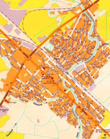 Карта Ленинградской области: районы, города, населенные ...