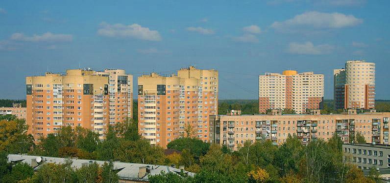 Город Пушкино расположен в
