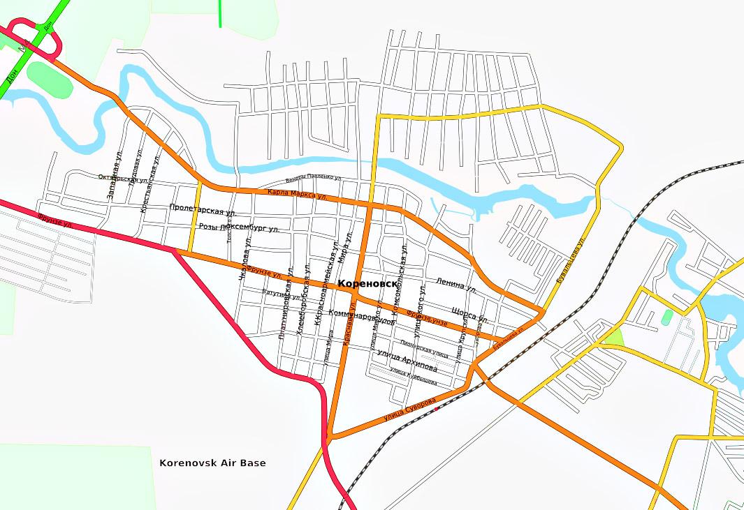 Карты дорог