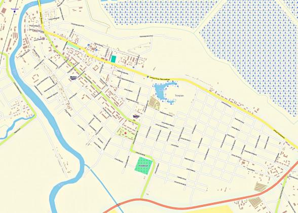 Темрюк карта с улицами.rar