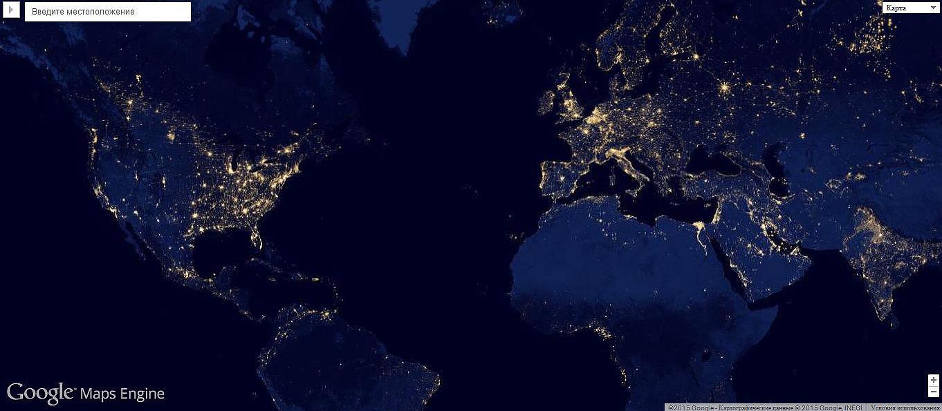 Гугл карты мира со спутника в реальном времени