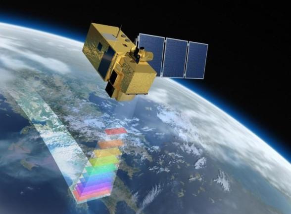 Картографирование на спутник