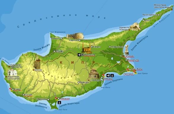 фото с отдыха на Кипре