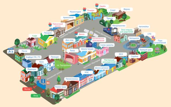 КидБург карта