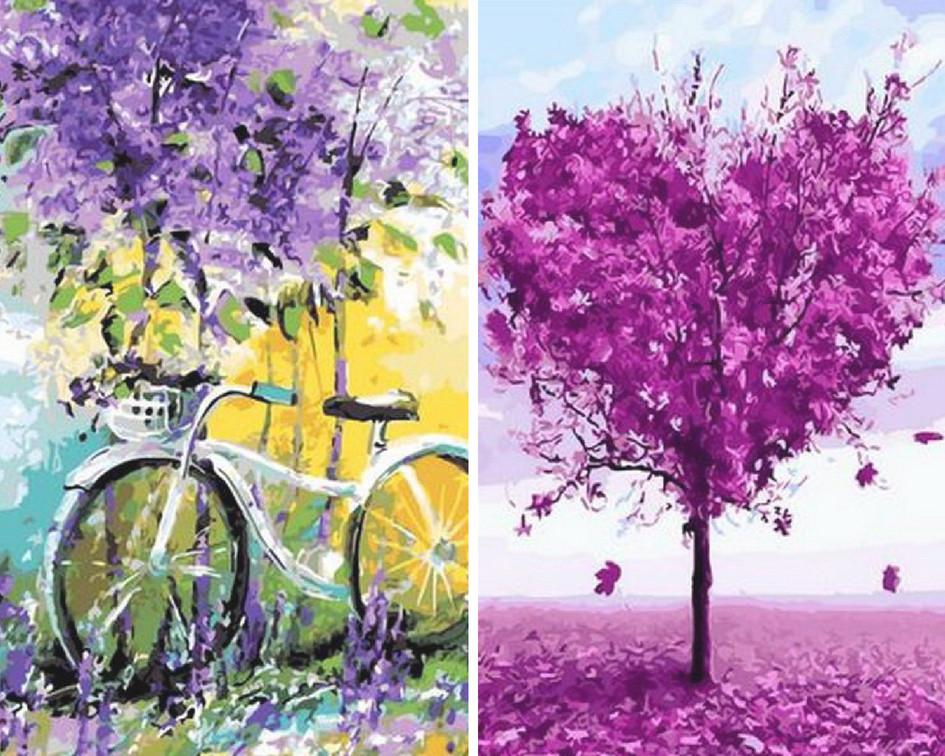 Картины и раскраски по номерам